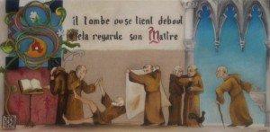 Les petits moines dans Huiles sur toile moines-300x147